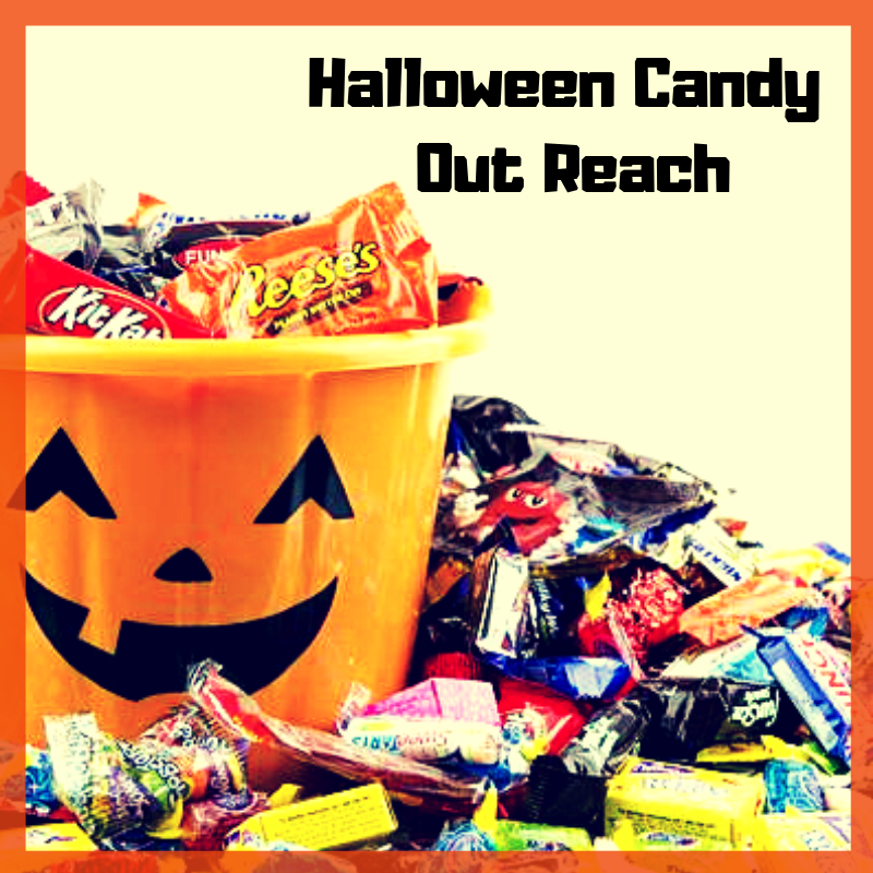 Halloween Candy Out Reach