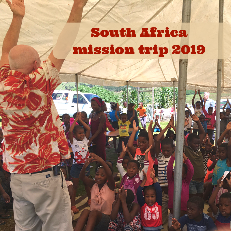 South Africa mission trip 2019 announcement