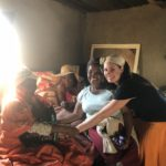 home visit on mission trip in South Africa
