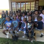 Kids after Church in South Africa