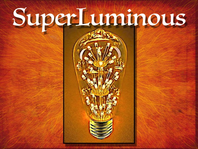 Elevation's series SuperLuminous logo