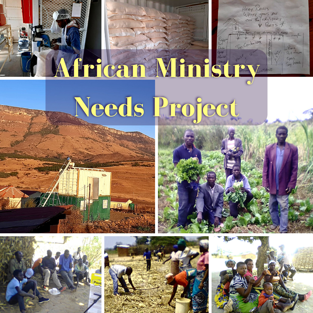 African Ministry Needs Project blog post